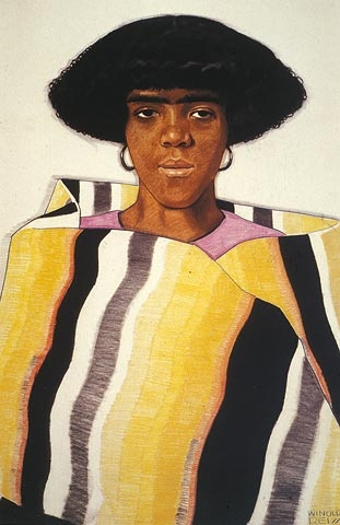 Harlem Girl With Blanket - Winald Reiss