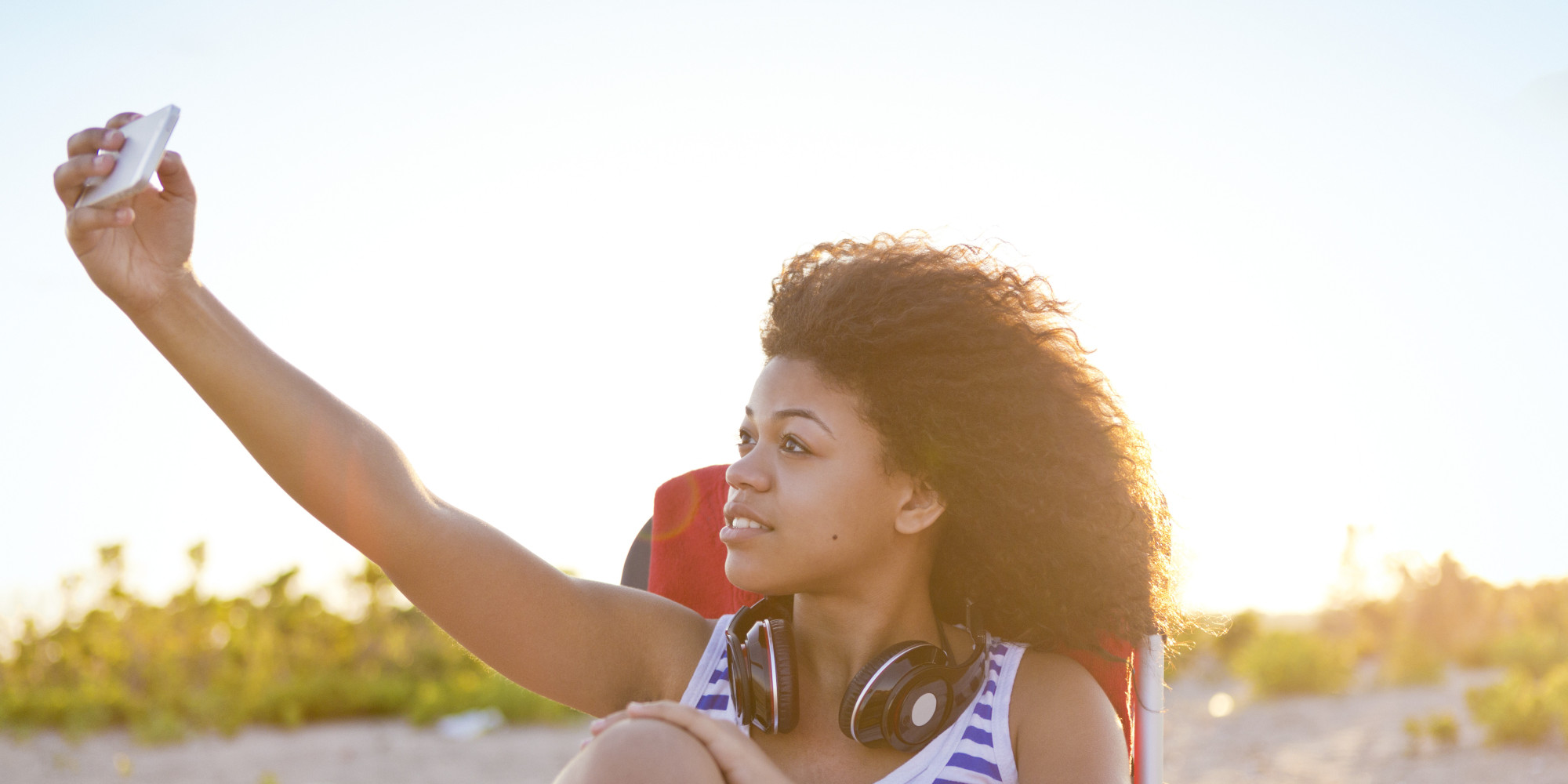 Well possible! young black teen girls selfies ready
